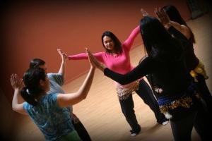 dancing mama circle